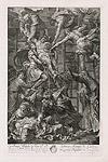 Снятие с креста. 1710 г.