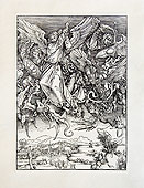 Битва архангела Михаила с драконом.