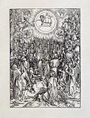 Песнопение избранных, славящих Господа ( Четыре ангела Евфрата).