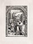 Иоаким и Анна у Золотых ворот Иерусалима.