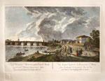 Вид Каменного моста и его окружностей в Москве по рисунку Ж. Делабарда, 1799г.