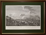 Поднавинское поместье в Москве по рисунку Ж. Делабарда ,1795г.