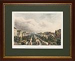 Тверской Бульвар.Вид от Никитских ворот.1830 г.