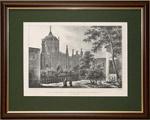 Интерьер Вознесенского монастыря в Кремле. 1830 г.