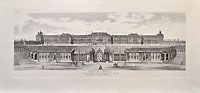 Вид Царскосельского дворца