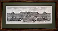 Вид дворца в Петергофе