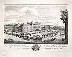 Проспект Летнего дома Его Императорского Величества с северной стороны (Гравирован в 1749-1753)