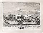 Проспект Старого Зимнего дворца с каналами соединяющими Мойку с Невою