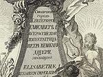 План столичнаго города С. Петербурга с изображением знатнейших онаго проспектов. 1753г.