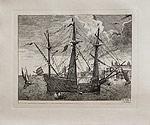 Парусник Sailing Vessels 1560-1565г